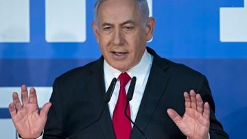 Demonstracje zwolenników i przeciwników Netanjahu w Tel Awiwie