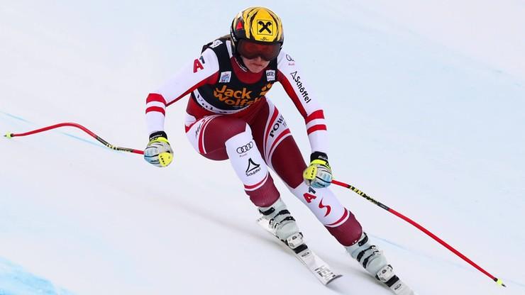 Alpejski PŚ: Poważna kontuzja Austriaczki. Śmigłowiec zabrał ją do szpitala