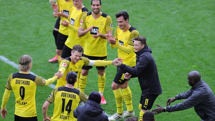 Borussia Dortmund pięknie pożegnała Piszczka (ZDJĘCIA)