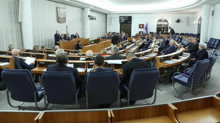 Senat po kilku godzinach debaty skierował ustawę o Służbie Ochrony Państwa do komisji