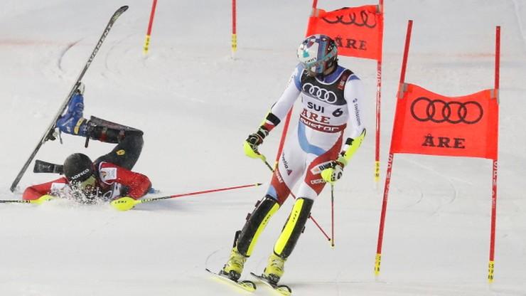 Alpejskie MŚ: Emocjonująca drużynówka dla Szwajcarii. Austria wciąż bez złota