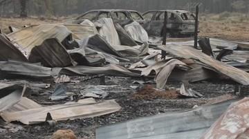 USA: pożary w stanie Oregon zniszczyły kilkaset budynków. Trwa walka z żywiołem