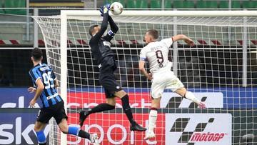 Koszmarny błąd Samira Handanovicia. Bramkarz Interu podarował rywalom gola (WIDEO)