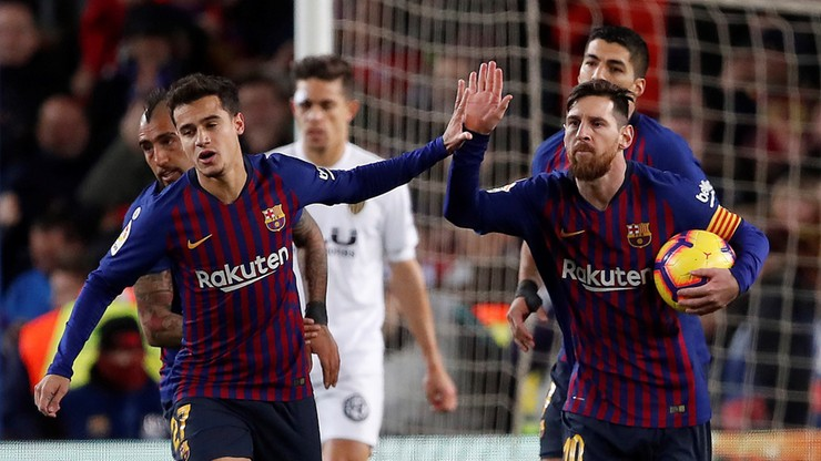 Liga Mistrzów: Olympique Lyon - FC Barcelona. Transmisja w Polsacie Sport Premium 2