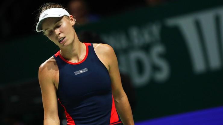 WTA w Auckland: Wozniacki wyeliminowana w drugiej rundzie