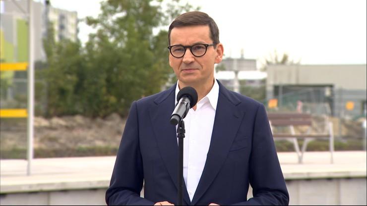 Mateusz Morawiecki: po poprzednikach odziedziczyliśmy wielki deficyt infrastrukturalny