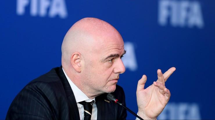 Infantino: Sponsorzy zainteresowani poszerzeniem klubowych mistrzostw świata