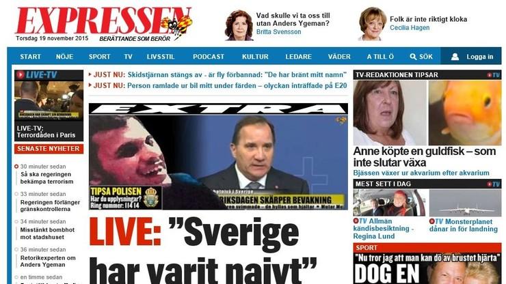 Szwedzi poszukują Irakijczyka, który miał przygotowywać zamachy w ich kraju