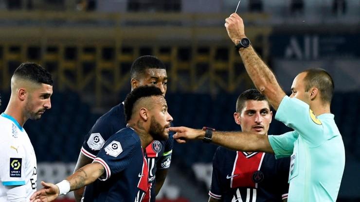 Ligue 1: Pięć czerwonych kartek i kolejna porażka PSG!