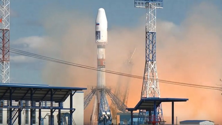 Pierwsza rakieta wystartowała z nowego kosmodromu Wostocznyj. Zobacz film