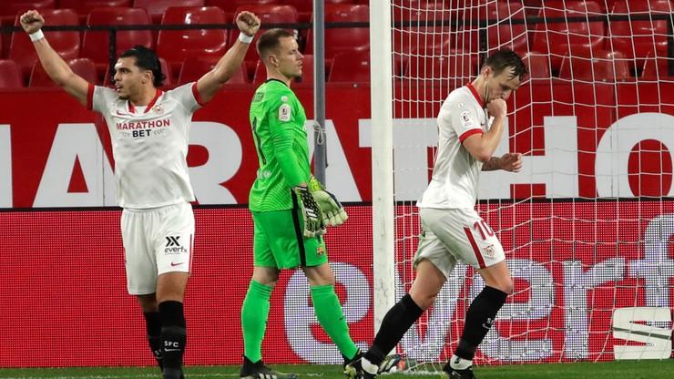 Puchar Króla: Sevilla bliżej finału po wygranej z Barceloną