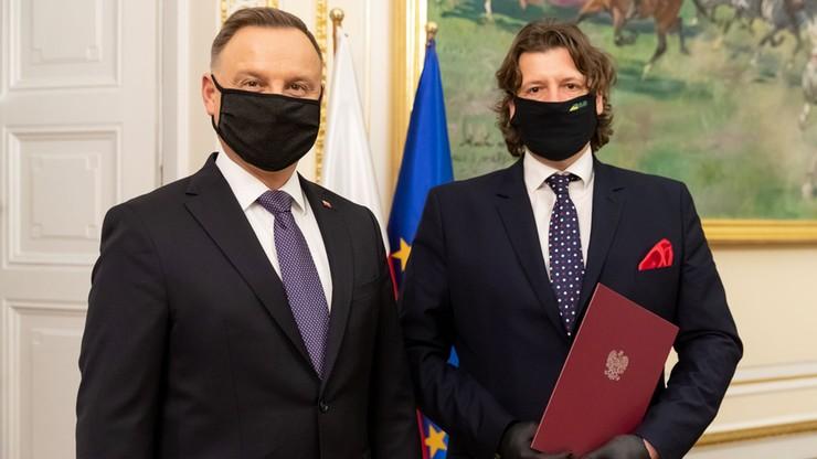 Piotr Serafin został społecznym doradcą prezydenta