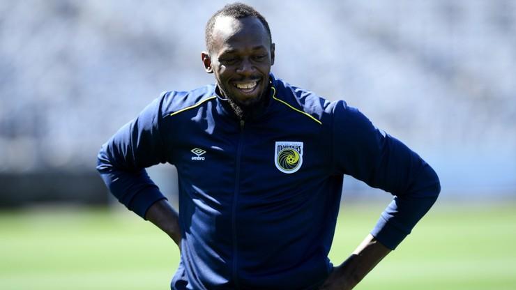 Bolt zaczął treningi piłkarskie w Australii. Chce być napastnikiem