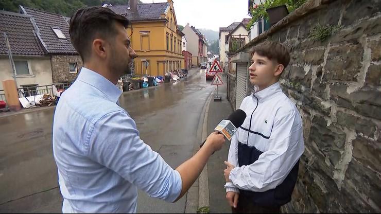"""15-latek z Polski bohaterem w Niemczech. """"Tego strażaka musiałem uratować"""""""