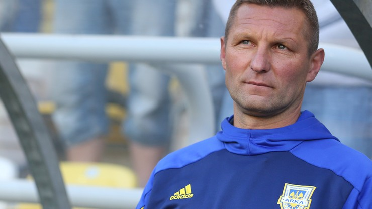Trener Arki: Nie myślimy jeszcze o awansie