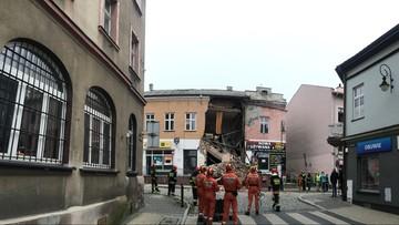 Zawaliła się część kamienicy z Chrzanowie. Ewakuacja z pobliskich budynków