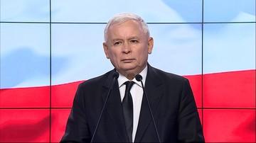 """""""Upadek zasad moralnych i niesprawność"""". Kaczyński o """"chorobach sądownictwa"""""""