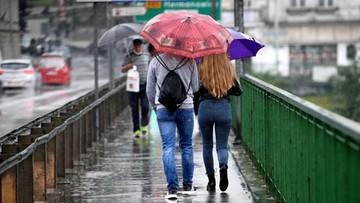 Niedziela przyniesie duże ochłodzenie. Miejscami deszcz i burze