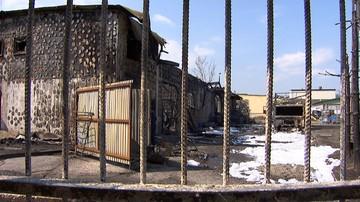 Pożar rozlewni chemikaliów w Żywcu. Właściciel oszacował straty na 400 tys. zł