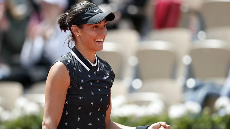 WTA w Nottingham: Garcia finałową rywalką Vekic