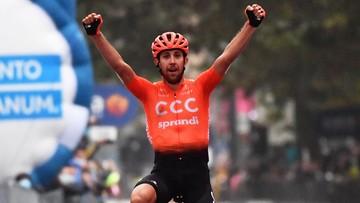 Kolarz polskiej ekipy wygrał etap Giro d'Italia!