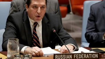 """""""Nie do zaakceptowania"""". Rosja zawetowała rezolucję Rady Bezpieczeństwa ONZ ws. ataku chemicznego w Syrii"""