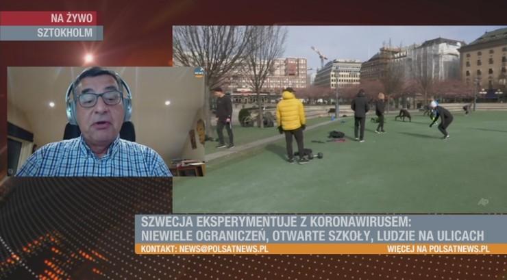 Szwedzi otwarci na... koronawirusa. Nie zamknęli nawet granic