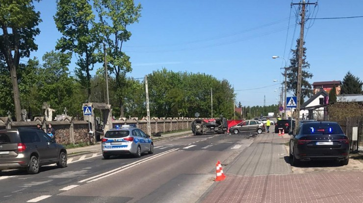 Ustalono dane kierowcy, który spowodował śmierć dwóch osób w Ostrowi Mazowieckiej
