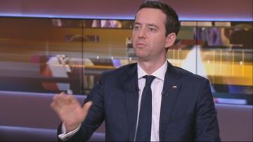 """""""Proponujecie egzotyczną, tęczową koalicję - od Zandberga po Bosaka"""". Ociepa o opozycji"""