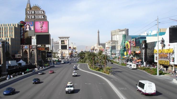 Ofiara śmiertelna strzelaniny na głównej ulicy Las Vegas