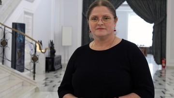 Krystyna Pawłowicz wydała oświadczenie. Żąda przeprosin od polityków i mediów