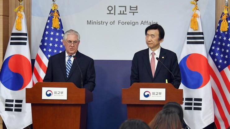 """""""Strategiczna cierpliwość USA wobec Korei Płn. wyczerpała się"""" - ostrzegł Tillerson"""