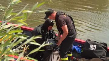 """Nurt rzeki porwał 16-latka. """"Niestety, prawdopodobnie szukamy ciała"""""""