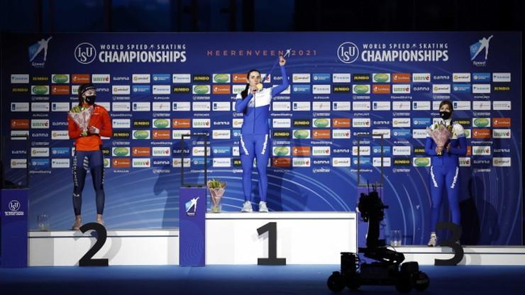 MŚ w łyżwiarstwie szybkim: Angelina Golikowa i Laurent Dubreuil najlepsi na 500 m