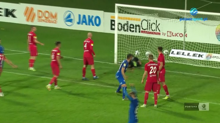 Odra Opole - Skra Częstochowa 1:0. Zwycięska bramka