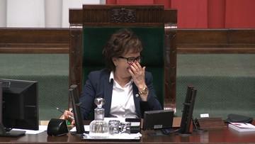 Śmiech marszałek Witek. Sejm wybierał komisję ds. pedofilii