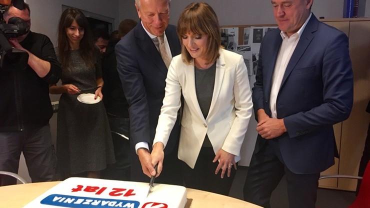 """12. urodziny """"Wydarzeń"""" Polsatu. Był tam nasz użytkownik, który spróbował tortu!"""