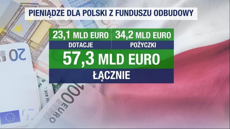 Plan odbudowy gospodarki. Blisko 60 mld euro dla Polski