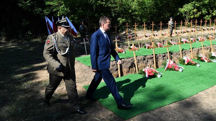 Szef MON: w Pomiechówku doszło do haniebnej niemieckiej zbrodni