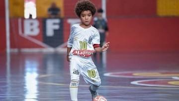 Ośmioletni Brazylijczyk przebił Lionela Messiego i Neymara. Tego jeszcze nie było!