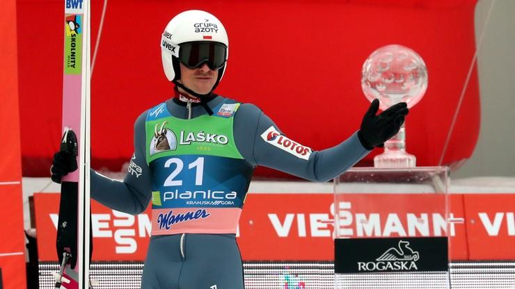 PŚ w Planicy: Żyła najlepszy z Polaków w ostatnim konkursie sezonu