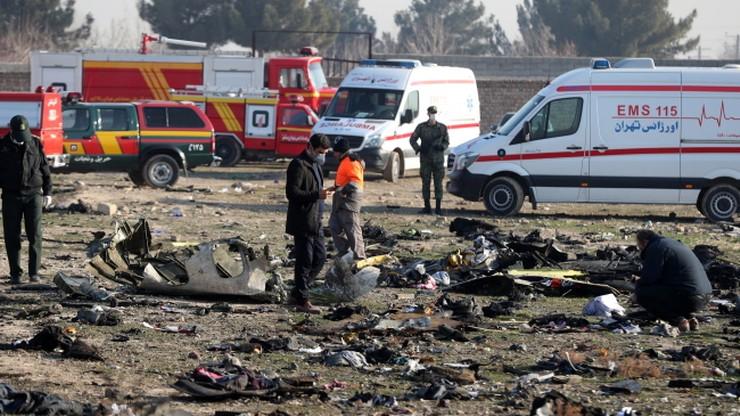 Większość pasażerów ukraińskiego samolotu, który rozbił się w Iranie, leciało do Kanady