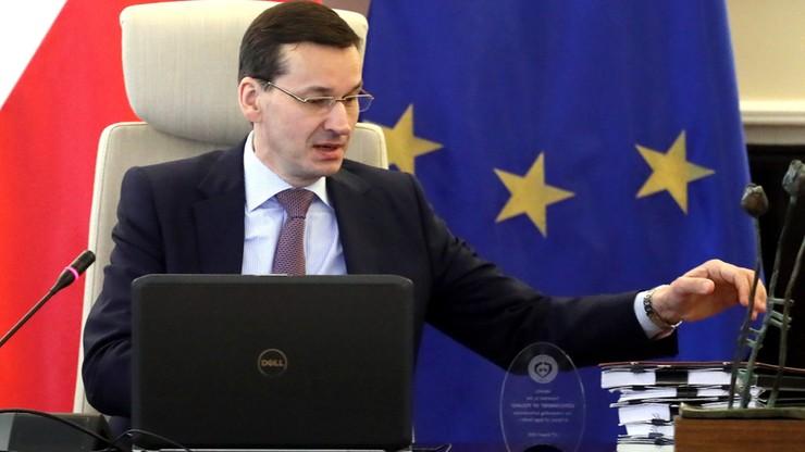 """""""Projekt Nord Stream 2 powinien zostać zatrzymany"""". Premier po oświadczeniu Departamentu Stanu USA"""