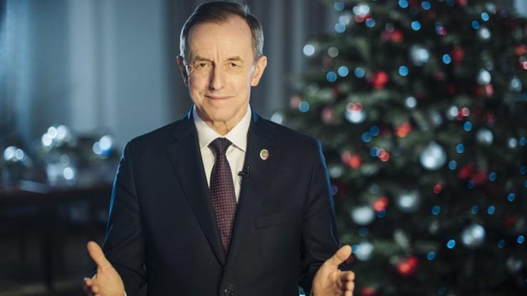 """""""Nadziei i wytchnienia od trosk"""". Życzenia na Boże Narodzenie od marszałka Senatu"""