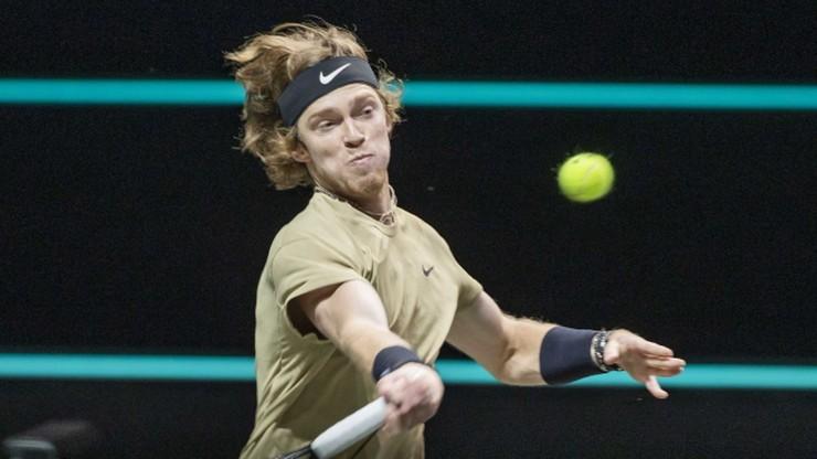 ATP w Rotterdamie: Stefanos Tsitsipas, Andriej Rublow i Borna Coric w półfinale