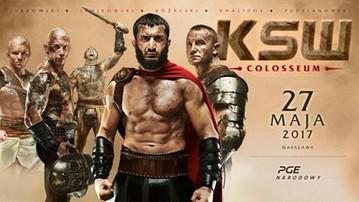 Karta walk KSW 39: Colosseum. Kto wystąpi na PGE Narodowym?