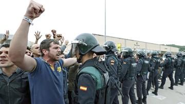 Katalońskie grupy proniepodległościowe wzywają do przeprowadzenia strajku generalnego