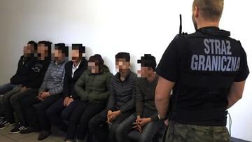 Straż Graniczna zatrzymała nielegalnych imigrantów i pomagających im Polaków