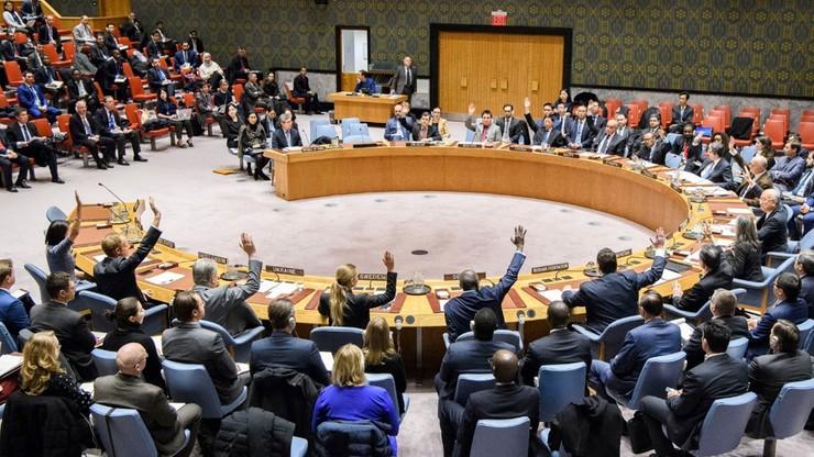 Flaga Polski jako niestałego członka Rady Bezpieczeństwa zawisła w siedzibie ONZ