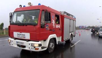 Karambol na A1. Droga w kierunku Łodzi całkowicie zablokowana